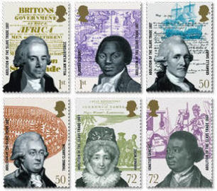 The Royal Mail Commemorative Stamps - 200th Abolition of the Transatlantic Slave Trade on British Ships