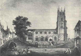 St Andrews Church around 1810